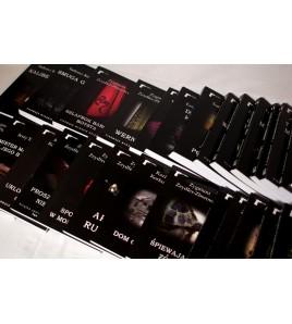 Seria KRYMINAŁ - komplet! 36 tomów + prezent