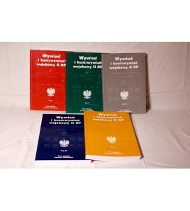 Pakiet promocyjny: Wywiad i kontrwywiad wojskowy II RP t. 1-5