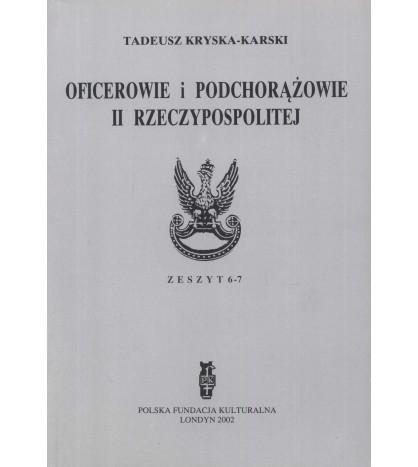 Oficerowie i podchorążowie II Rzeczypospolitej
